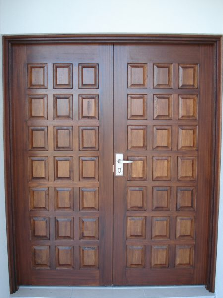 Solid Panel Entrance Doors