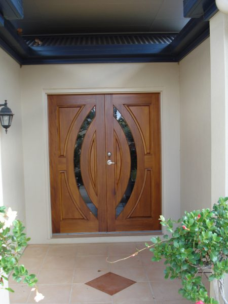 Contemporary Glass Entrance Doors