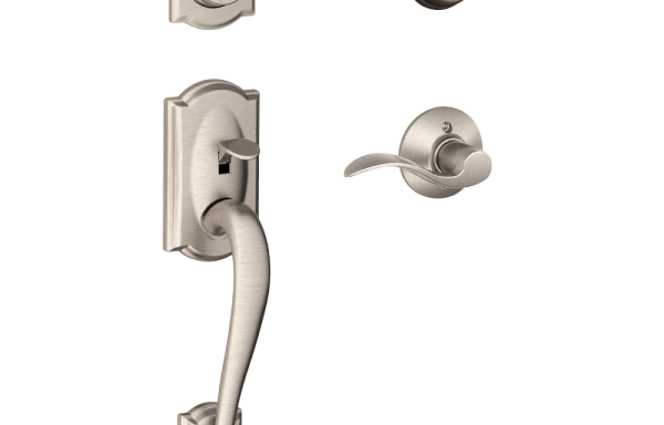 Camelot Entry Set with Accent Lever – Double Cylinder SNP