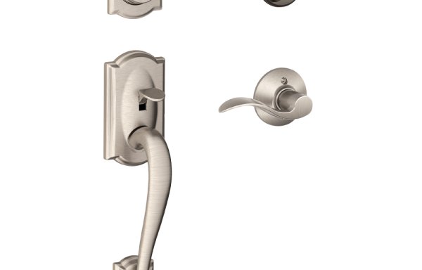 Camelot Entry Set with Accent Lever – Single Cylinder SNP