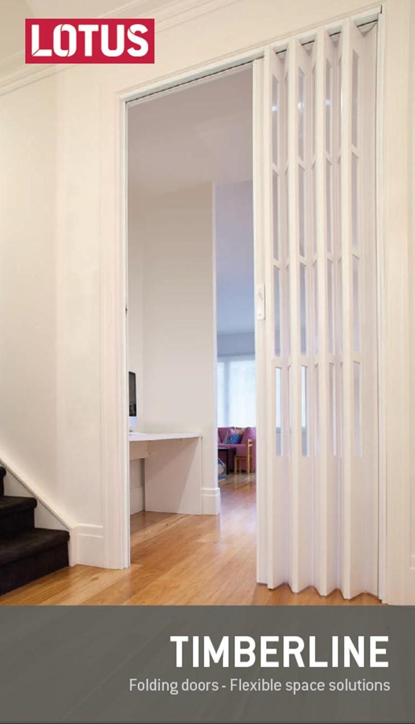Timberline Concertina Doors