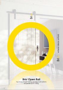 Brio Open Rail Brochure - Barn Doors