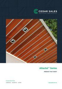 CEDAR SALES Altache Series Fact Sheet