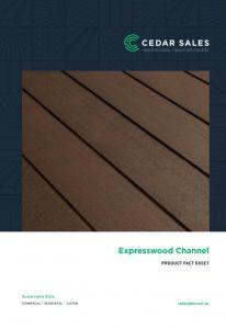 CEDAR SALES Expresswood Channel Fact Sheet
