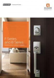 allegion schlage f and b series Door Hardware