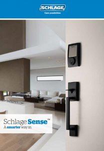 Schlage Sense Electronic Locks brochure