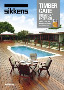 Sikkens Timber Finishes - Interior/Exterior Timber Care Brochure