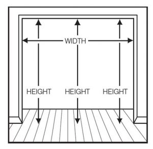 Door Measuring Guide and Technical Details