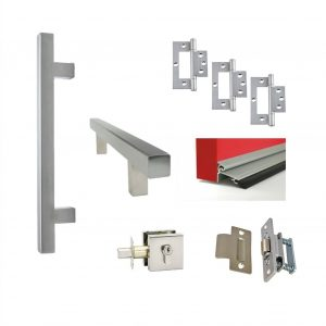 Single door kit - Pull Handle - Square 1