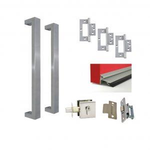 Single Door Kit - Pull Handle Square
