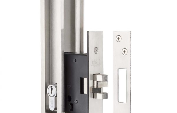 Key Lockable Flush Pull Set