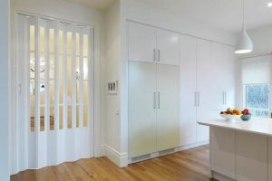 Lotus Folding Door with Windows