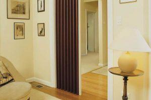 Lotus Vinylcloth Concertina Door