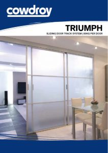 Cowdroy Triumph Sliding Door Track System