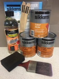 Sikkens Cetol Wood care and Wood finishes