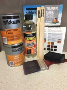 Sikkens Cetol Timber Care Wood Finishes