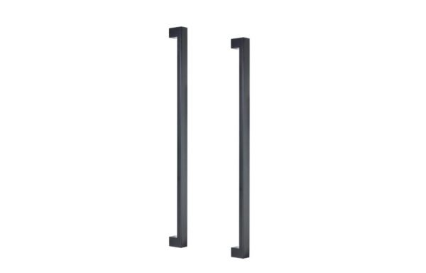 Square Profile 2 Matt Black Pull – 470mm