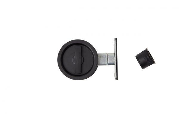 Flush Privacy Latch Round MB
