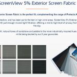 Protecta Screens Colours